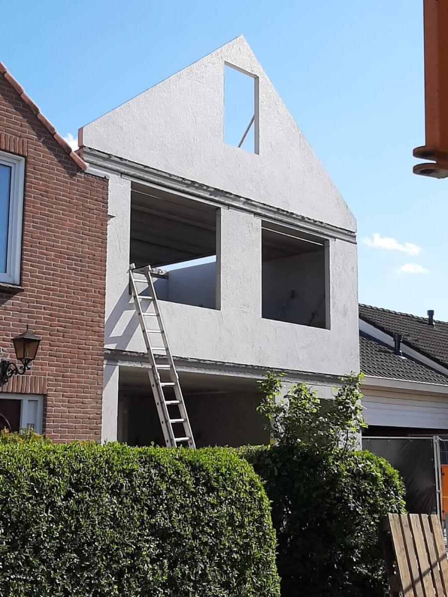 Prefab woning beton casco